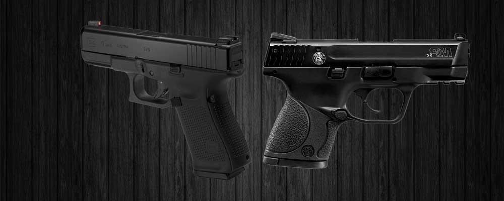 Glock 19 vs. M&P 9c