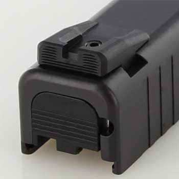 Glock 42 and 43 sights