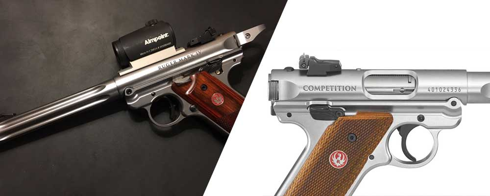 Ruger Mark IV Competition vs Hunter