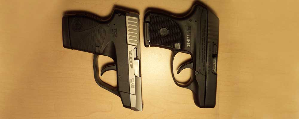 Taurus TCP vs Ruger LCP