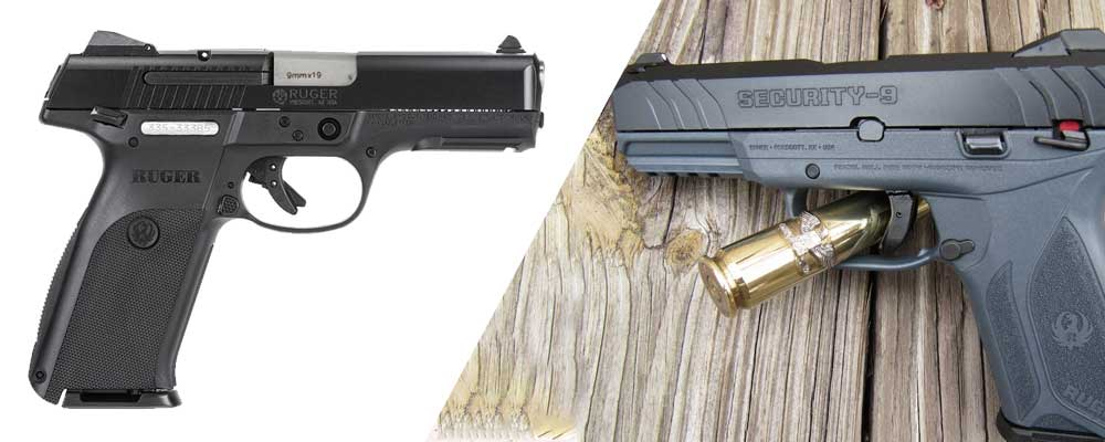 ruger sr9 vs security 9