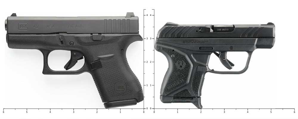 glock 42 vs ruger lcp 2