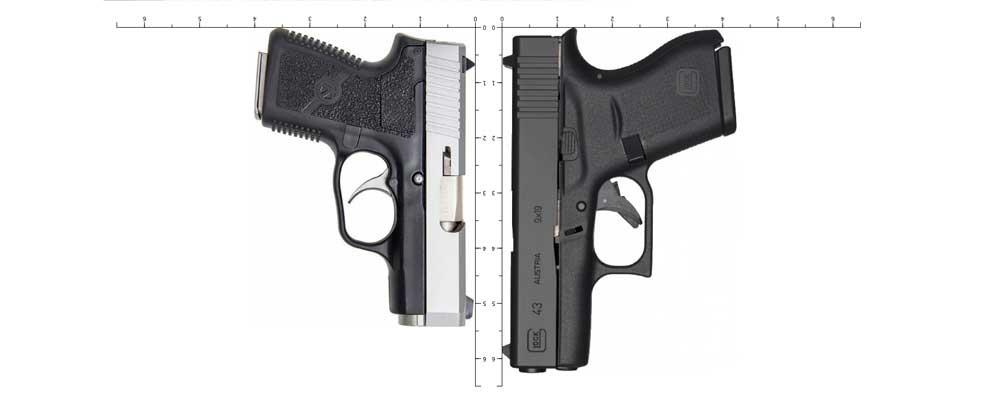 glock 43 vs kahr cm9