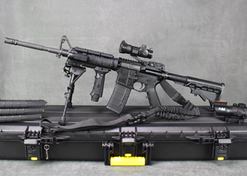 left handed ar 15 uppers material