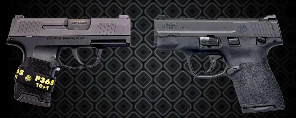 Sig P365 vs Shield
