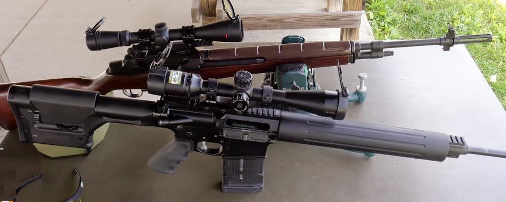 M1A VS AR-10