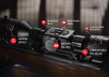 atn x sight 4k pro design
