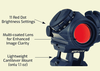 red dot brightness settings