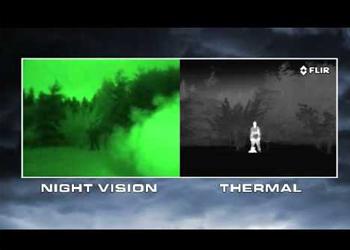 thermal imaging vs night vision