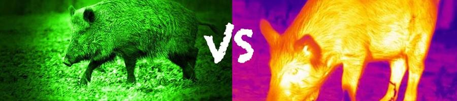 thermal vs night-vision