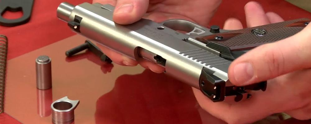 How To Field Strip a 1911