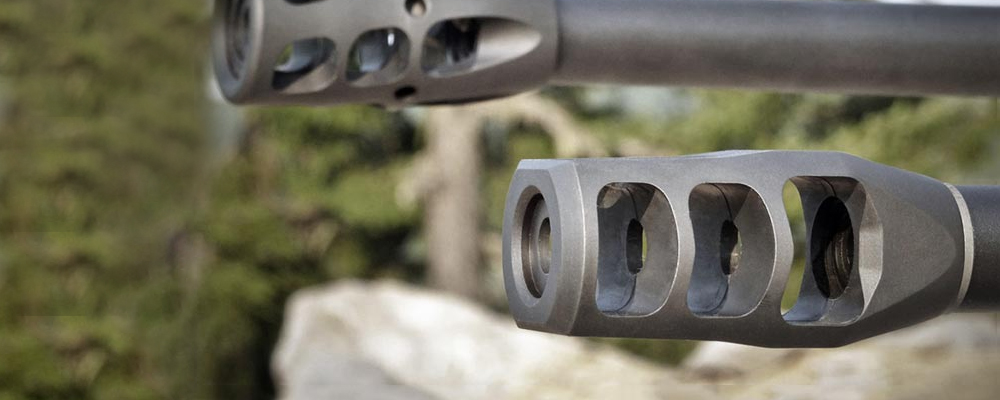 how to install a muzzle brak