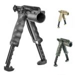 FAB Defense 2nd Gen Bipod-Foregrip with Built-in Tactical Light Up