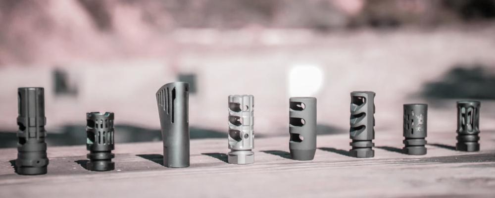 Muzzle Brake vs. Compensator