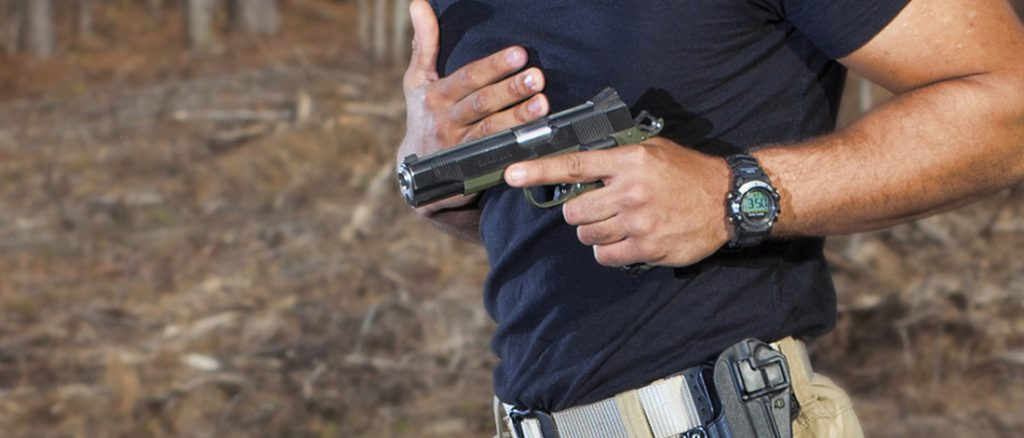 How to Draw A Pistol From A Holster