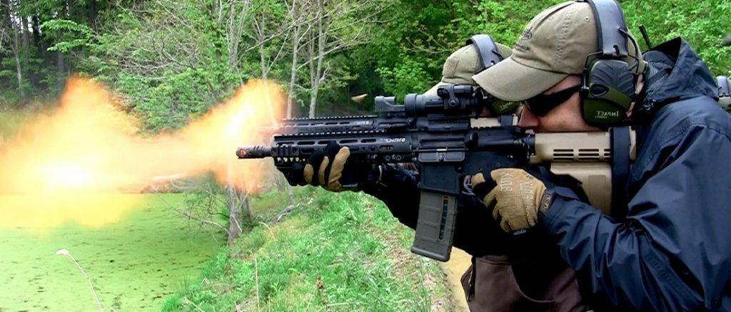 Can You Shoulder An AR Pistol
